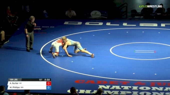 138 Finals - Alston Nutter, Wisconsin vs Mason Phillips, Washington