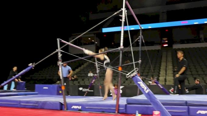 Marissa Oakley Training Bars - 2017 US Classic Podium Training