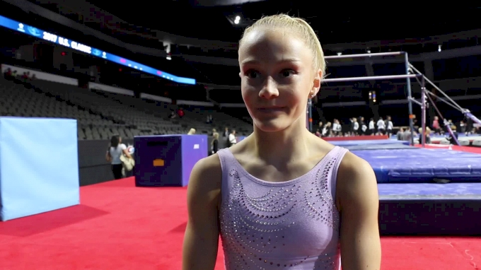 Riley McCusker On Coming Back Strong From Recent Injuries - 2017 U.S. Classic Podium Training
