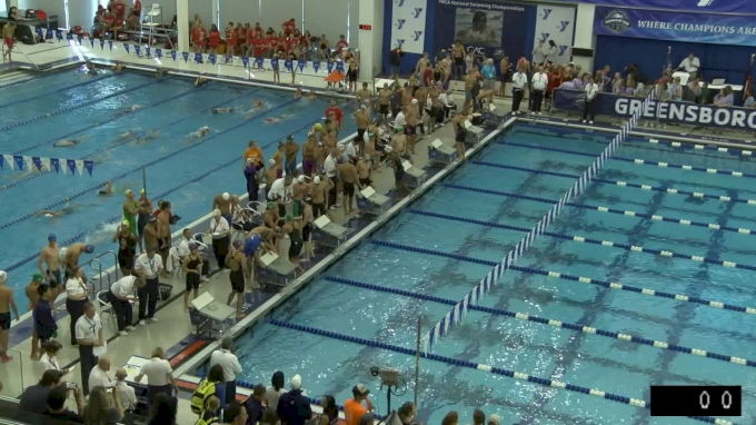 2017 YMCA LC Nationals | Boys 200 Freestyle Relay Heat 1