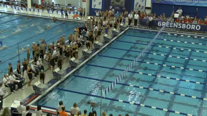 2017 YMCA LC Nationals | Girls 200 Freestyle Relay Heat 3