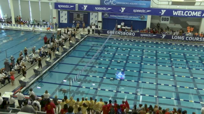 2017 YMCA LC Nationals | Girls 200 Freestyle Relay Heat 1