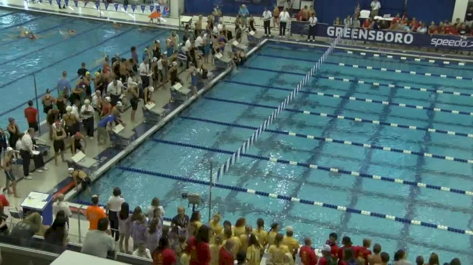 2017 YMCA LC Nationals | Girls 200 Freestyle Relay Heat 2