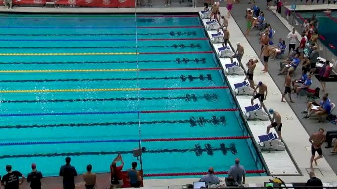 2017 NCSA Summer Champs | Men 100m Freestyle B-Final