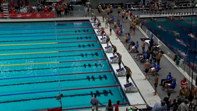 2017 NCSA Summer Champs | Men 200m Freestyle Relay Heat 3