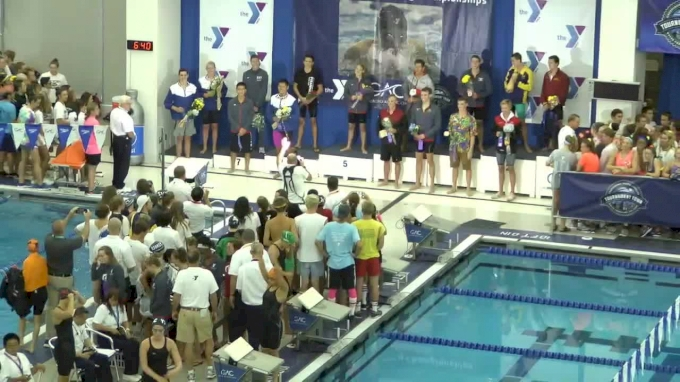 2017 YMCA LC Nationals | Girls 100m Butterfly C-Final