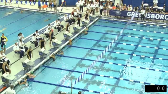 2017 YMCA LC Nationals | Girls 100m Butterfly B-Final