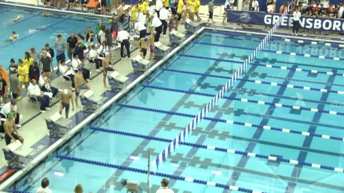 2017 YMCA LC Nationals   Boys 100m Butterfly C-Final