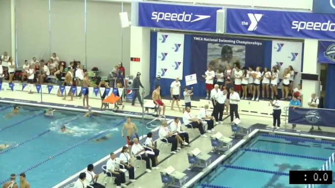 2017 YMCA LC Nationals | Boys 100m Butterfly A-Final
