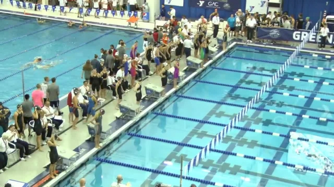 2017 YMCA LC Nationals | Girls 400m Medley Relay B-Final