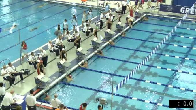 2017 YMCA LC Nationals | Girls 1500m Freestyle Heat 3