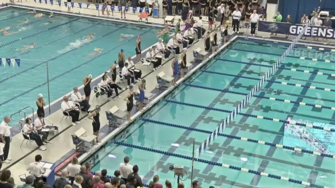 2017 YMCA LC Nationals   Girls 100m Backstroke C-Final
