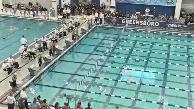 2017 YMCA LC Nationals   Girls 100m Backstroke B-Final