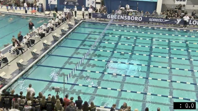 2017 YMCA LC Nationals | Girls 100m Backstroke A-Final