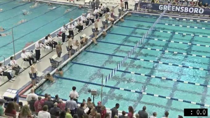 2017 YMCA LC Nationals | Boys 100m Backstroke B-Final
