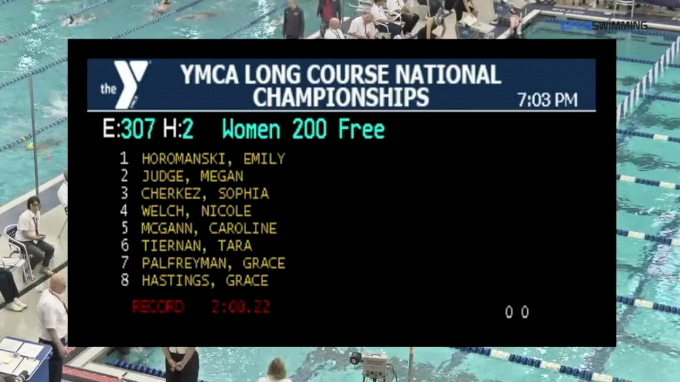 2017 YMCA LC Nationals | Girls 200m Freestyle B-Final