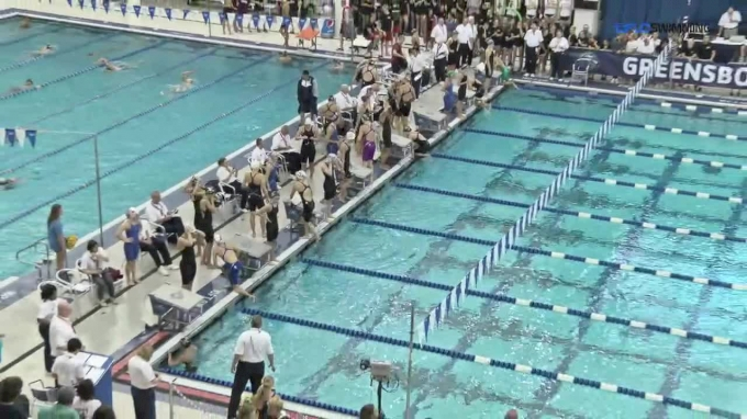 2017 YMCA LC Nationals | Girls 200m Medley Relay A-Final