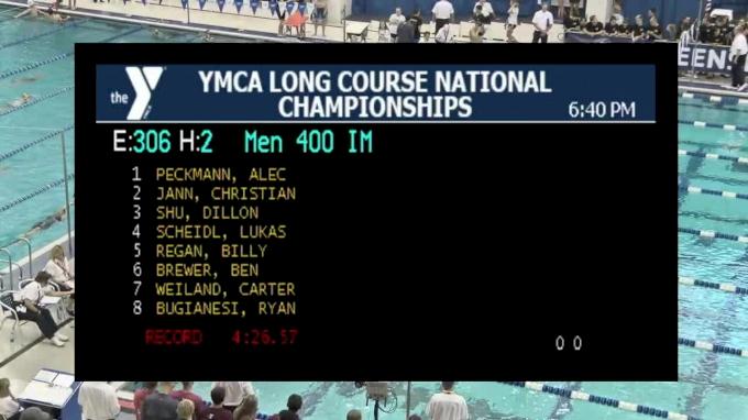 2017 YMCA LC Nationals | Boys 400m IM B-Final