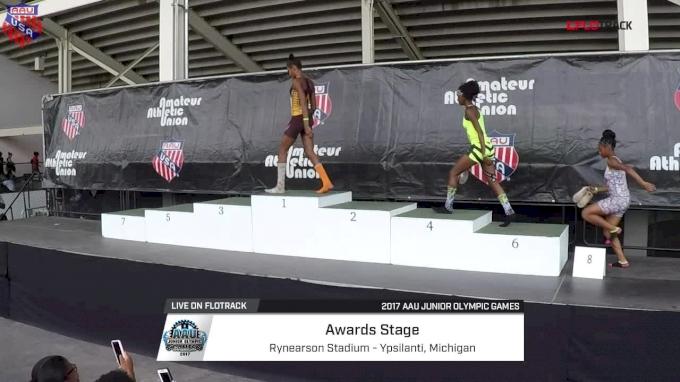 Girl's 100m Hurdles Awards - Age 13