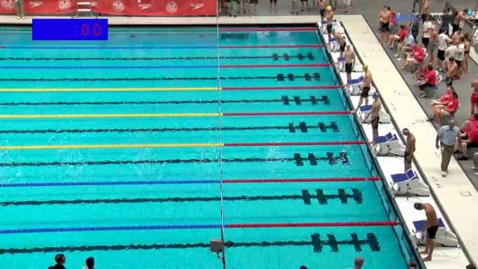 2017 NCSA Summer Champs | Men 100m Backstroke C-Final