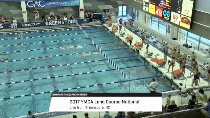 2017 YMCA LC Nationals | Tuesday Prelims (SCOREBOARD START)