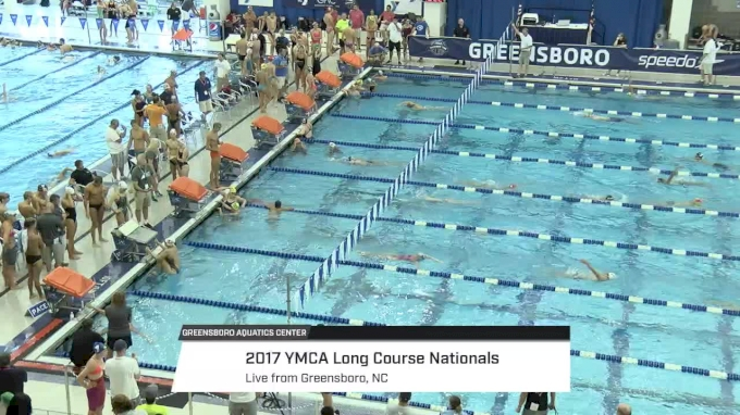 2017 YMCA LC Nationals | Wednesday Prelims (DIVING WELL START)