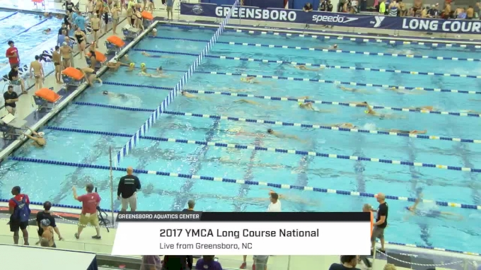 2017 YMCA LC Nationals | Tuesday Prelims (DIVING WELL START)