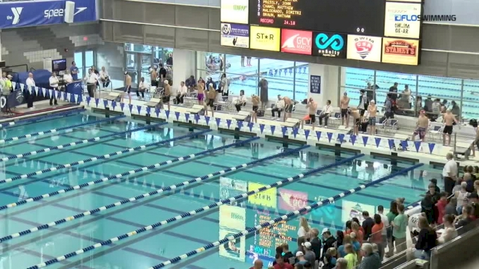 2017 YMCA LC Nationals | Boys 50m Butterfly C-Final