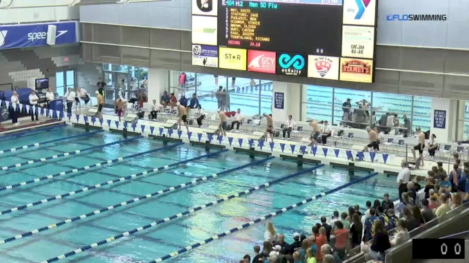 2017 YMCA LC Nationals | Boys 50m Butterfly B-Final