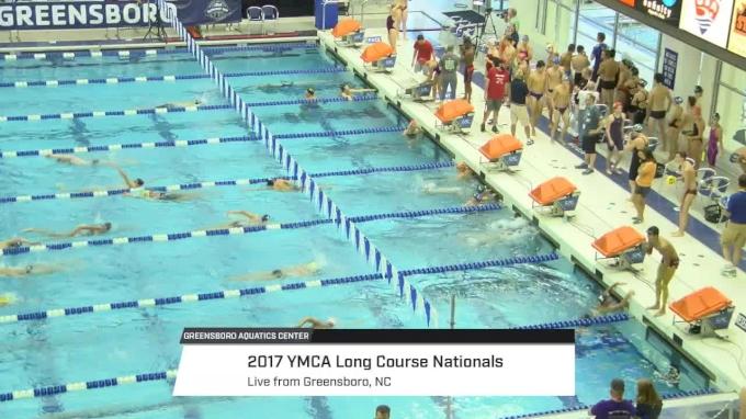 2017 YMCA LC Nationals | Wednesday Prelims (SCOREBOARD START)