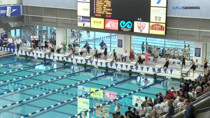 2017 YMCA LC Nationals | Girls 50m Freestyle C-Final