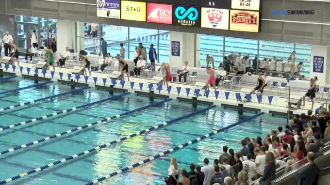 2017 YMCA LC Nationals | Girls 50m Freestyle B-Final