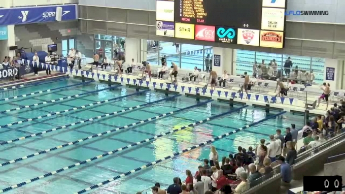2017 YMCA LC Nationals | Boys 50m Freestyle B-Final