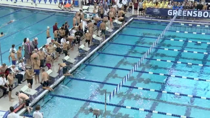 2017 YMCA LC Nationals | Boys 800m Freestyle Relay Heat 2