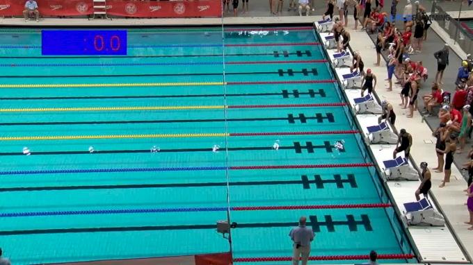 2017 NCSA Summer Champs   Women 400m Freestyle Relay Heat 1