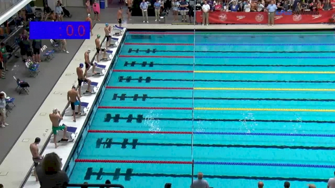 2017 NCSA Summer Champs | Men 50m Breaststroke B-Final