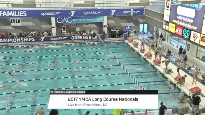2017 YMCA LC Nationals | Friday Prelims (SCOREBARD START)
