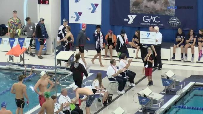 2017 YMCA Nationals   Men 200m Butterfly A-Final