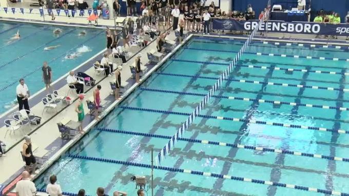 2017 YMCA Nationals | Women 50m Backstroke B-Final