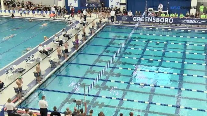 2017 YMCA Nationals   Men 50m Backstroke B-Final