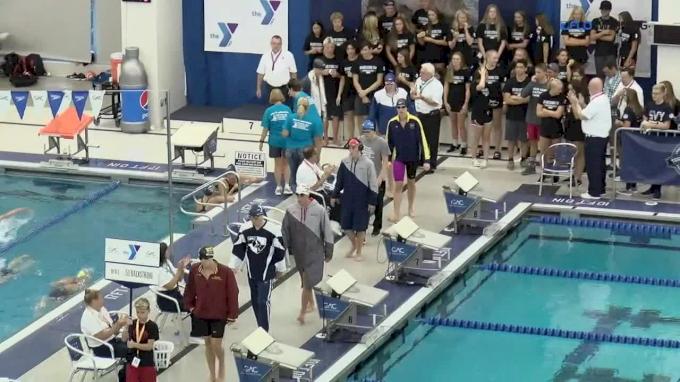 2017 YMCA Nationals | Men 50m Backstroke A-Final