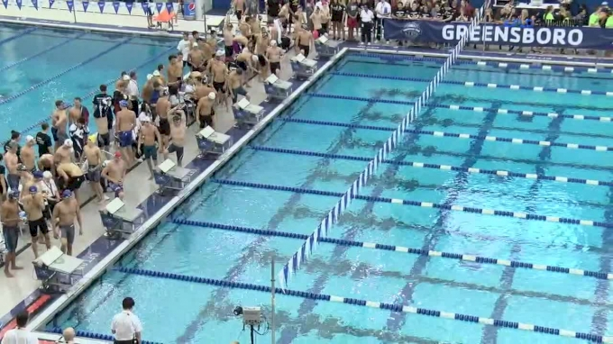 2017 YMCA Nationals | Men 400m Freestyle Relay A-Final