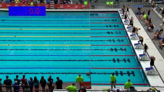 2017 NCSA Summer Champs | Women 100m Butterfly B-Final
