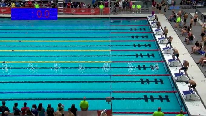 2017 NCSA Summer Champs | Men 100m Butterfly D-Final