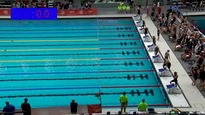 2017 NCSA Summer Champs | Women 800m Freestyle Relay Heat 3