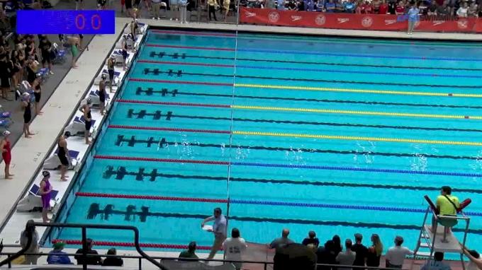 2017 NCSA Summer Champs | Women 50m Backstroke C-Final
