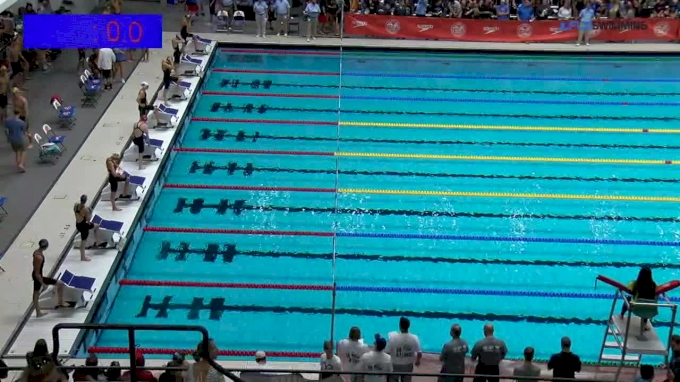 2017 NCSA Summer Champs | Women 50m Freestyle B-Final