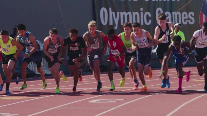 Relive Brandon Miller's Historic AAU 800m Run