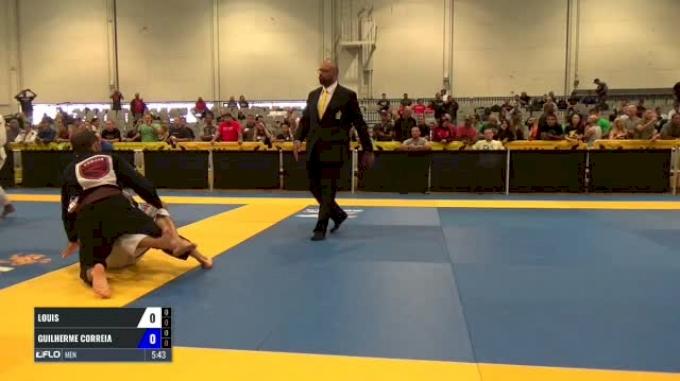 Louis Cugini vs Guilherme Correia World Master Jiu-Jitsu IBJJF Championship