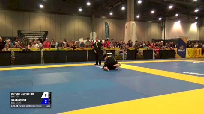 Crystal Arrington Vs Marta Covre World Master Jiu Jitsu IBJJF